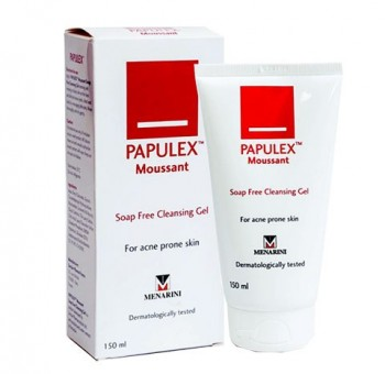 Sữa rửa mặt Papulex TM Moussant Soap Free Cleansing Gel - O2 Skin